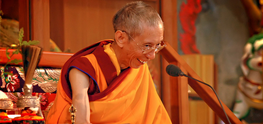 Founder Venerable Geshe Kelsang Gyatso