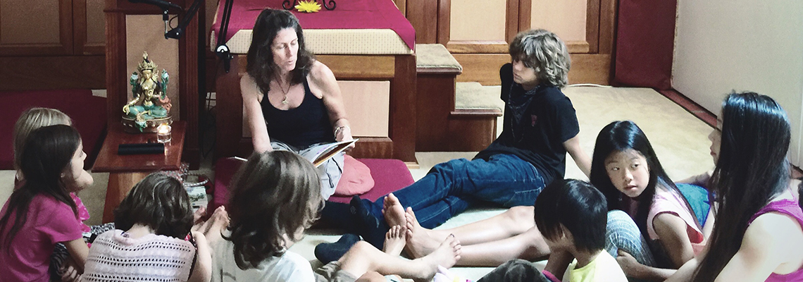 Meditation for Kids and Families in Hermosa Beach Sunday mornings