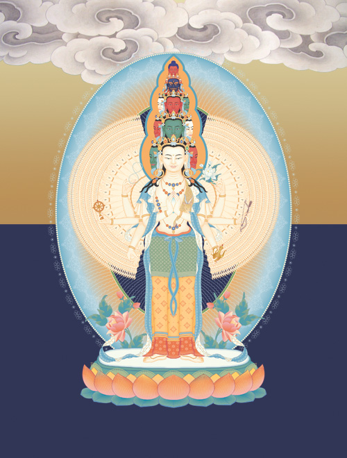 Blessing Empowerment of Thousand Armed Avalokiteshvara