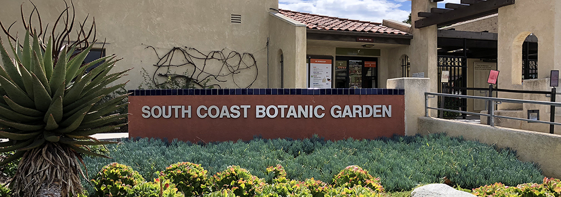 Meditation at South Coast Botanic Garden in Palos Verdes with Keith Holmes