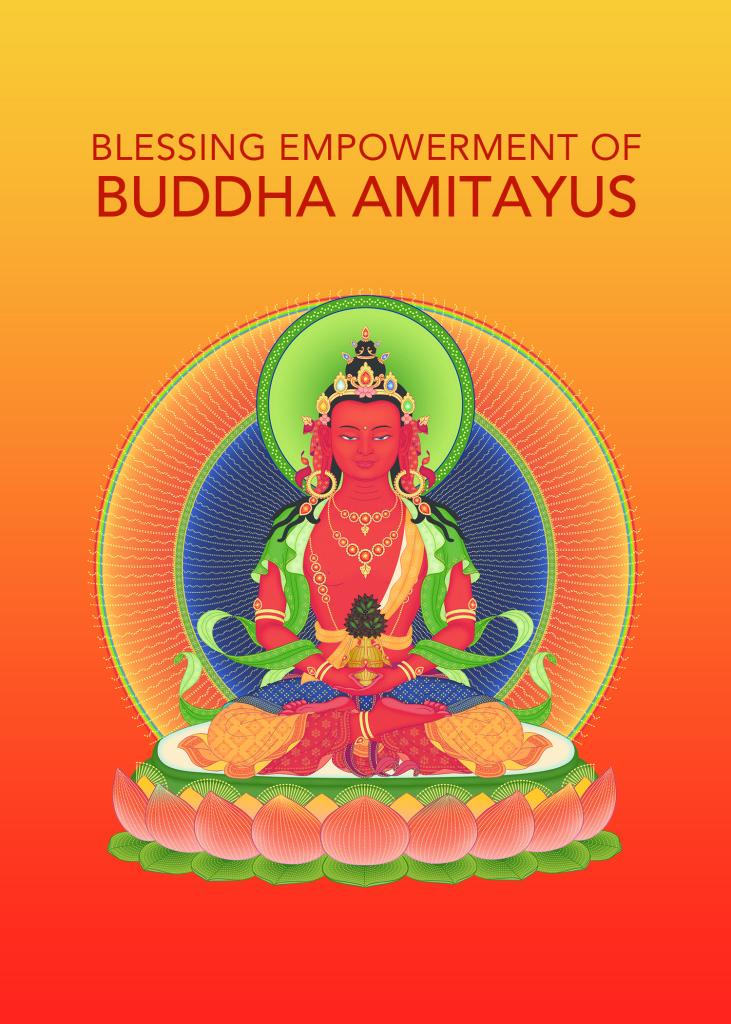 Blessing Empowerment of Buddha Amitayus