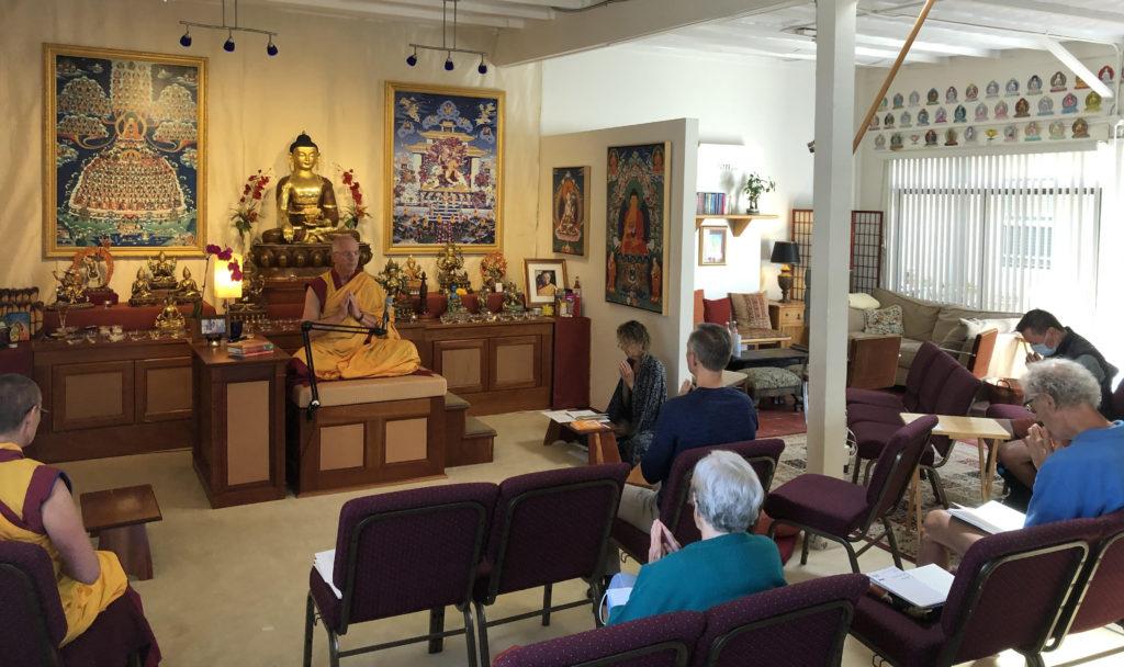Spacious Meditation Room